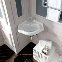 corner wall-hung washbasin RETRO' Kerasan