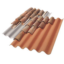corrugated colored fiber cement roofing panel TEGOLIT 200 - TEGOLIT PLUS 200 EDILFIBRO SPA