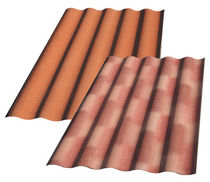 corrugated colored fiber cement roofing panel TEGOLIT INTEGRALE 200 EDILFIBRO SPA