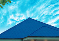 corrugated colored fiber cement roofing panel HA HUANG CORRUGATED Mahaphant Fibre-Cement (Public) Co.,Ltd.