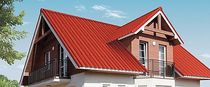 corrugated colored fiber cement roofing panel HA HUANG ROMAN Mahaphant Fibre-Cement (Public) Co.,Ltd.