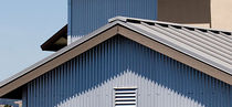 corrugated metal sheet facade cladding TEMPO RIB Custom-Bilt Metals