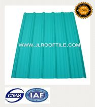 corrugated PVC roofing sheet HEAT AND SOUND INSULATION ROOFING MATERIAL Laizhou JIELI Industry Co.,LTD