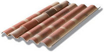 corrugated sheet for Spanish clay roof tile support SOUTUILE Eternit
