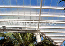 corrugated translucent polycarbonate roofing sheet FLAT rodeca