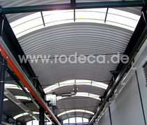 corrugated translucent polycarbonate roofing sheet RT rodeca