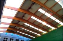 corrugated translucent polycarbonate roofing sheet  Lanik