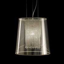 design pendant lamp (crystal) HOLLYWOOD by Filipe Lisboa VISO Lighting