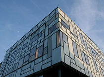 curtain wall insulation glass panel BARNSLEY CIVIC CENTRE  Glass Tech Facades