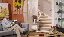 curved chair stair lift OTOLIFT ONE Otolift