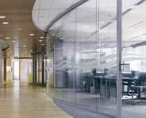 curved removable partition PANORAMA Maars