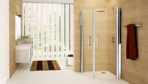 curved swing shower screen GIADA R NOVELLINI