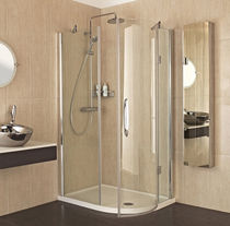 curved swing shower screen FA13R Roman
