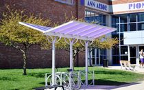 cycle stand with shelter for public spaces BUTTERFLY  Duo-Gard