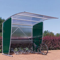 cycle stand with shelter for public spaces DEAUVILLE DOUBLET