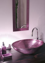 decorated glass counter top washbasin 7511088 Boxart - Arredi ed accessori per il bagno