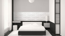 decorative 3D wooden wall panel: MDF D3D TOUCHE DE FANTAISIE MUR design