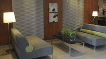 decorative 3D wooden wall panel: MDF D3D &Eacute;L&Eacute;MENTS COMPL&Eacute;MENTAIRES MUR design