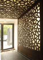 decorative 3D wooden wall panel  MATAHATI