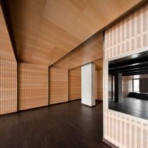 decorative acoustic wooden wall panel: MDF TAURO 50 SPIGOTEC - SPIGOACUSTIC - SPIGOLINE
