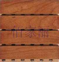 decorative acoustic wooden wall panel: MDF 09001 techpanel inc