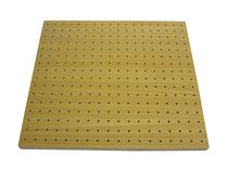decorative acoustic wooden wall panel: MDF  Getech