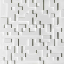 decorative acoustic wooden wall panel: MDF C03 Post srl