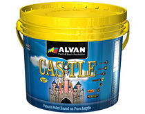 decorative acrylic paint for exterior (facade, matt) CASTLE ALVAN PAINT