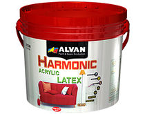 decorative eco-friendly acrylic latex paint for interior (low VOC) HARMONIC ALVAN PAINT