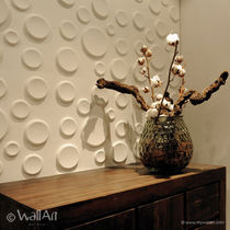 decorative eco-friendly wall panel in recycled cellulose fiber CRATERS WALLART