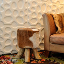 decorative eco-friendly wall panel in recycled cellulose fiber PEBBLES WALLART