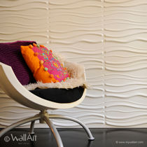 decorative eco-friendly wall panel in recycled cellulose fiber SANDS WALLART