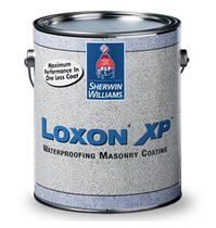 decorative glycero paint for wet rooms (satin) LOXON XP ® WATERPROOFING MASONRY Sherwin-Williams