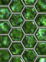 decorative resin wall panel HONEYCOMB lumigraf