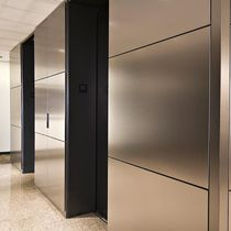 decorative stainless steel wall panel LEVELE FORMS+SURFACES