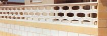 decorative stone imitation concrete block (for balustrades) OVAL Verni-Prens