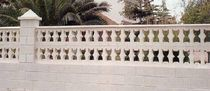 decorative stone imitation concrete block (for balustrades) AMANDA Verni-Prens