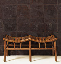decorative wooden wall panel INDAH ANN SACKS