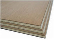 decorative wooden wall panel: plywood (PEFC, FSC certified) ALLIN PLEX ALLIN