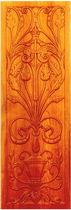 decorative wooden wall panel DESIGN2 Andrews Wood Crafts