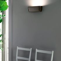 design aluminium wall light FLACA by Roberto Paoli NEMO