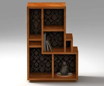 design bookcase in certified solid wood (FSC-certified) SIGNATURE SIDD