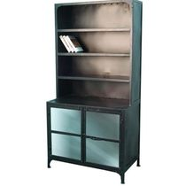 design bookcase: industrial style BLACK METAL  metafor-design.com