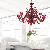 design chandelier (blown glass, handmade) VOGUE: BARNABA Classic Light