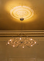 design chandelier (halogen) LIGHTWAVE by Thomas Haagen Ruhrform