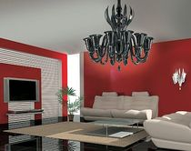 design chandelier (Murano blown glass) VENICE: RIALTO Classic Light