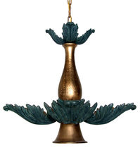 design chandelier LEAF &amp; BALUSTER GILANI