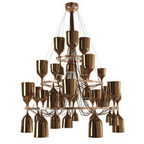 design chandelier (porcelain) COPACABANA QUEEN by Jaime Hayón METALARTE
