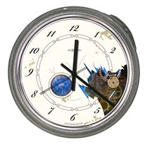 design clock STEAMPUNK Pacific Art Design