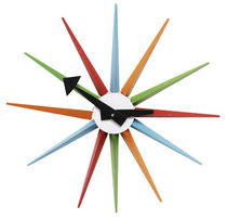 design clock COLORED STAR KARE Design